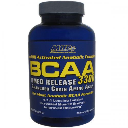 MHP BCAA 3300 120 CAPS