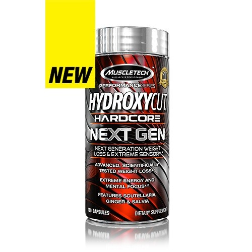 MUSCLETECH HYDROXYCUT NEXT GENERATION 100 CT
