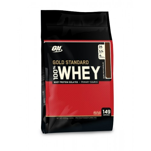 OPTIMUM NUTRITION 100% WHEY GOLD STANDARD 10 LBS